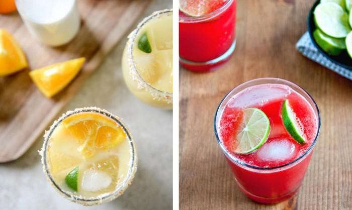 drinks, cocktails, watermelon, coconut, orange,summer,beauty,